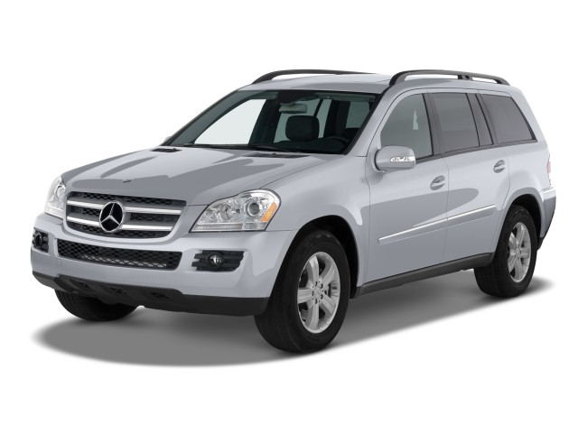 2009 Mercedes-Benz GL Class 4WD 4-door 4.6L Angular Front Exterior View