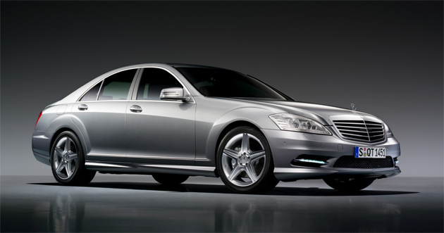 2009 Mercedes-Benz S-Class with AMG sports package