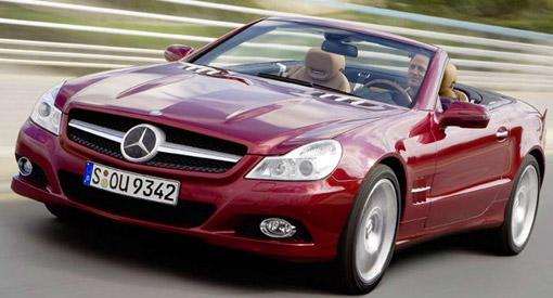 2009 Mercedes-Benz SL Convertible official details