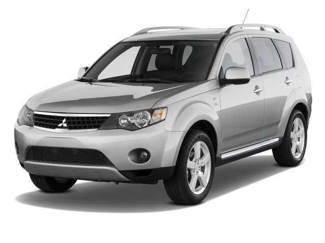 2009 mitsubishi outlander review ratings specs prices. Black Bedroom Furniture Sets. Home Design Ideas