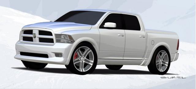 2009 Mopar Dodge Ram Bianco