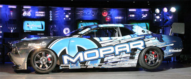 Hubinette won the Formula Drift series back in 2004 and 2006 with Mopar sponsored Dodge Viper