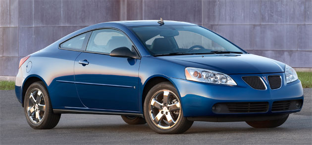 The 2009.5 updates will bring new cosmetic features as well (2009 G6 GT pictured)