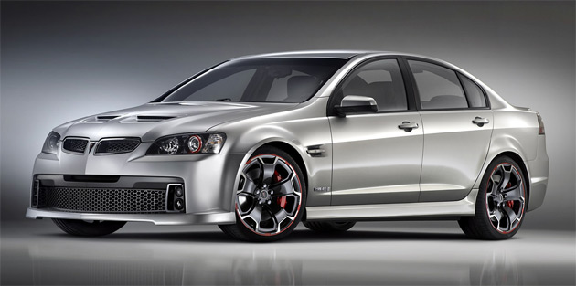 Pontiac G8 GXP 'Street' powered by 7.4L LSX454 V8