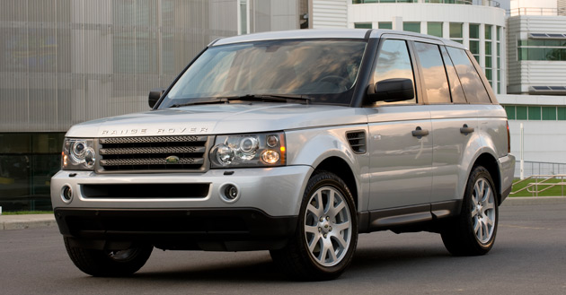 The Range Rover Sport is available with the Autobiography package for 2009