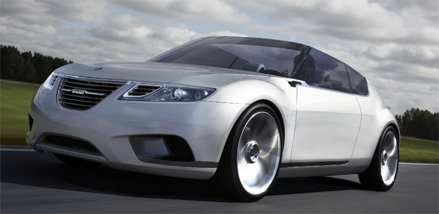 Saab's future models like the 9-1 premium hatch will still sit on GM platforms for some time to come