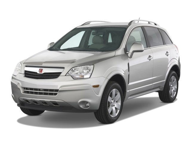 2009 Saturn Vue Fwd 4 Door V6 Xr Angular Front Exterior View