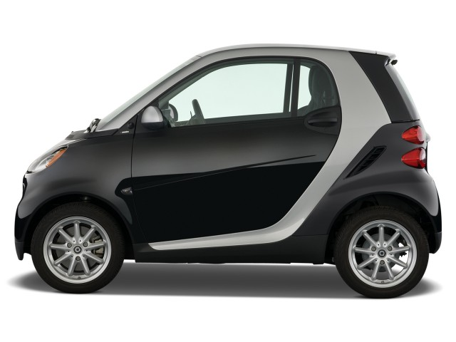 Side Exterior View 2009 Smart Fortwo 2 Door Coupe Pion