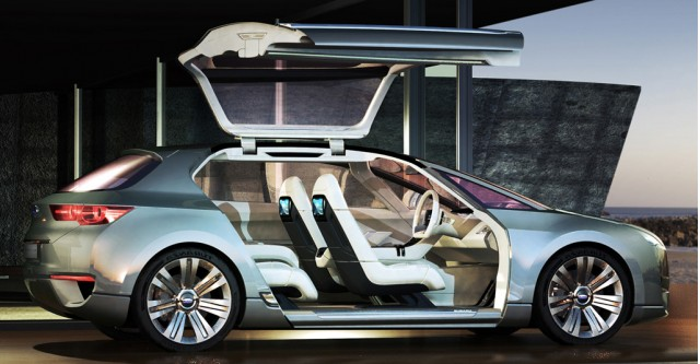 2009 Subaru Hybrid Tourer Concept