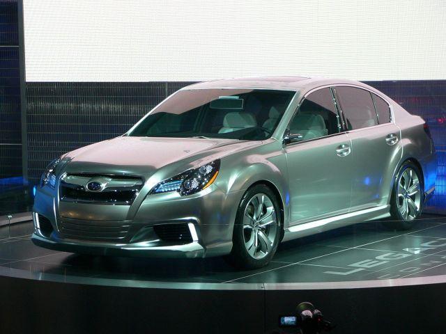 2009 Detroit Show: Subaru Legacy Concept