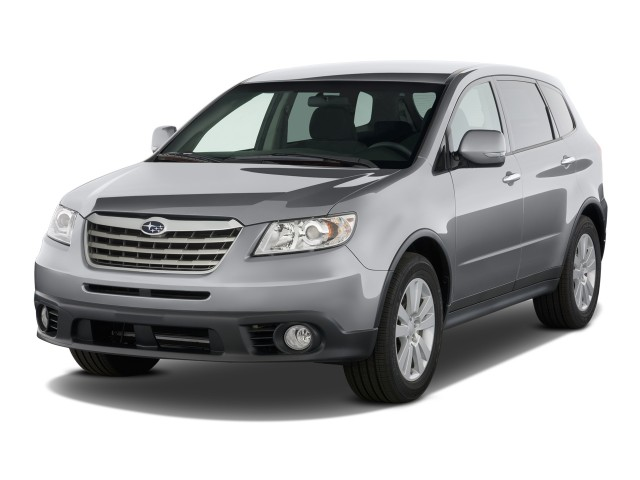 2009 Subaru Tribeca 4-door 5-Pass Angular Front Exterior View