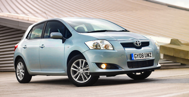 The Auris is a hatchback sold in Europe and is badged in some other markets as a Corolla