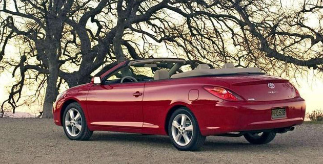 end of the road for camry solara convertible. Black Bedroom Furniture Sets. Home Design Ideas