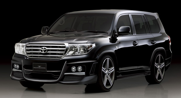 The Black Bison kit has appeared on everything from Nissan's GT-R to the Bentley Continental GT and now the Land Cruiser