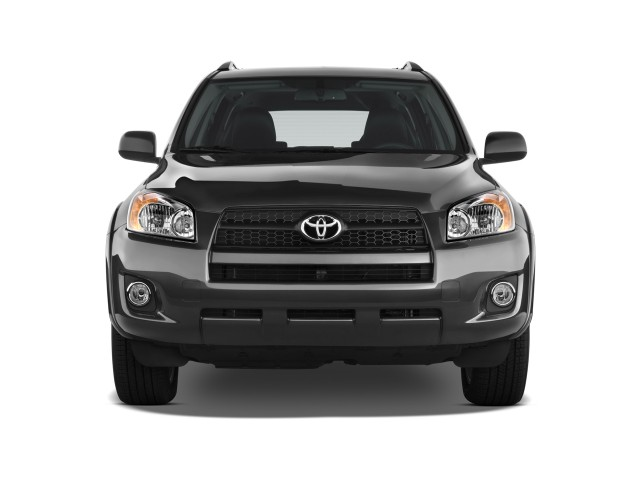 2009 Toyota RAV4 FWD 4-door 4-cyl 4-Spd AT Sport (Natl) Front Exterior View