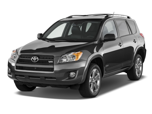 2009 Toyota RAV4 FWD 4-door V6 5-Spd AT Sport (Natl) Angular Front Exterior View
