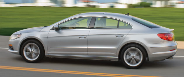 The four-door coupe for the masses employs technology to get its top rating
