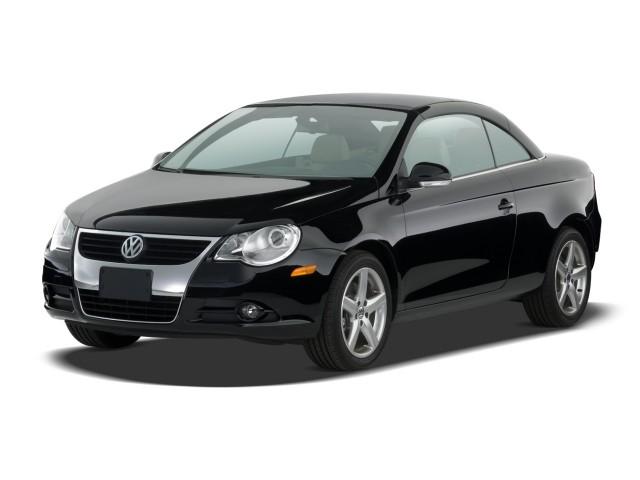 2009 Volkswagen Eos 2-door Convertible DSG Lux Angular Front Exterior View