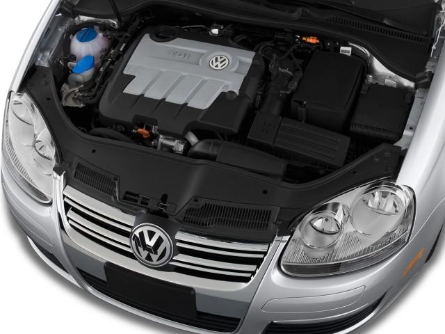 2009 Volkswagen Jetta Sedan 4 Door Dsg Tdi Engine