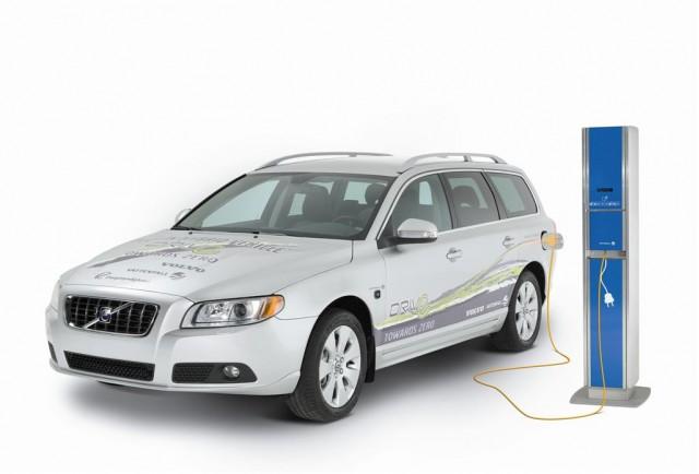 2009 Volvo V70 Plug-in Hybrid Demonstrator