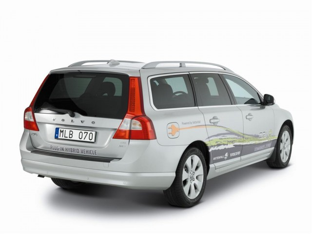 2009 Volvo V70 Plug-in Hybrid Demonstrator