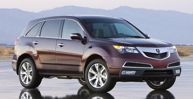 Acuras MDX SUV Gets A New Look And Powertrain For - Acura mdx tow capacity