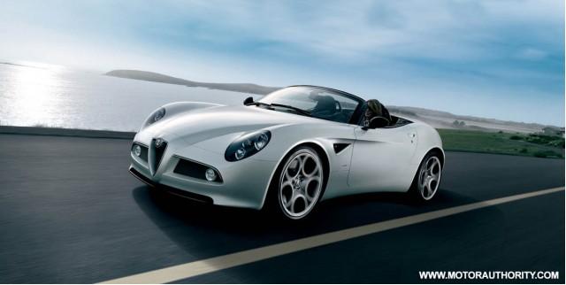 8c Spider Alfa Romeo S Most Expensive Model Ever