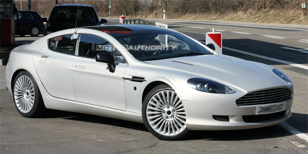 Spy Shots Undisguised Aston Martin Rapide - Aston martin 4 door
