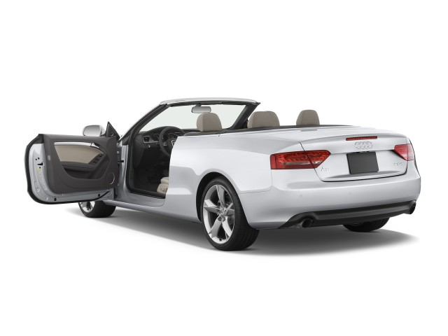 Open Doors - 2010 Audi A5 2-door Cabriolet 2.0L FrontTrak Premium Plus