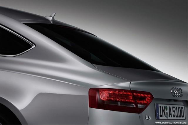 2010 Audi A5 Sportback teaser