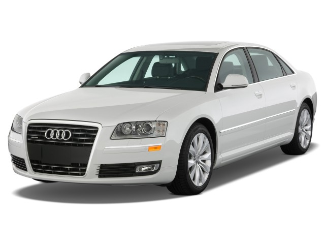 2010 Audi A8L 4-door Sedan 4.2L Angular Front Exterior View