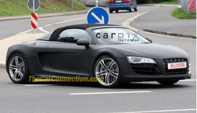 2010 Audi R8 Spy Shots