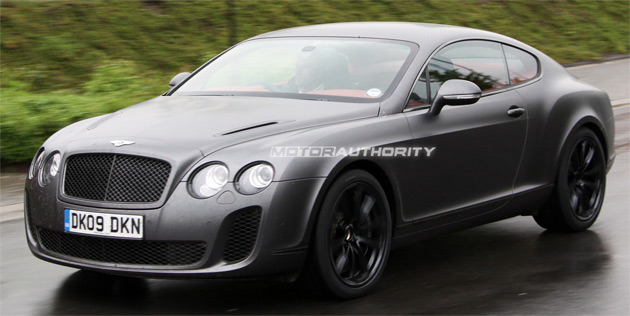 The Continental Supersports features a flex-fuel version of the 6.0L W12 engine and delivers more than 621hp (463kW)