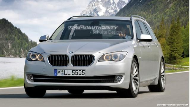 2010 BMW 5-Series rendering