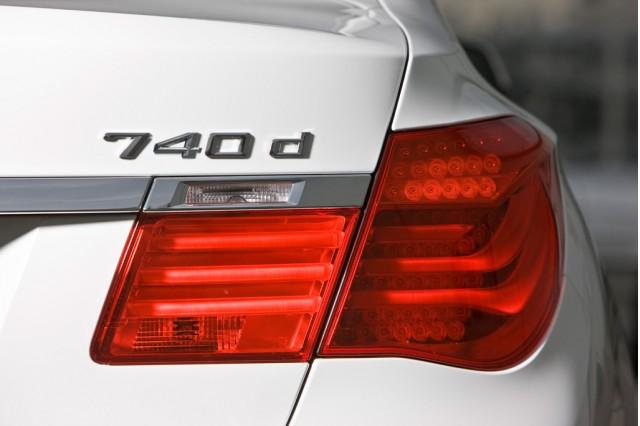 2010 BMW 740d