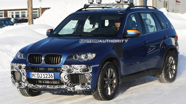 Spy Shots BMW X M Performance SUV - Bmw 2010 suv