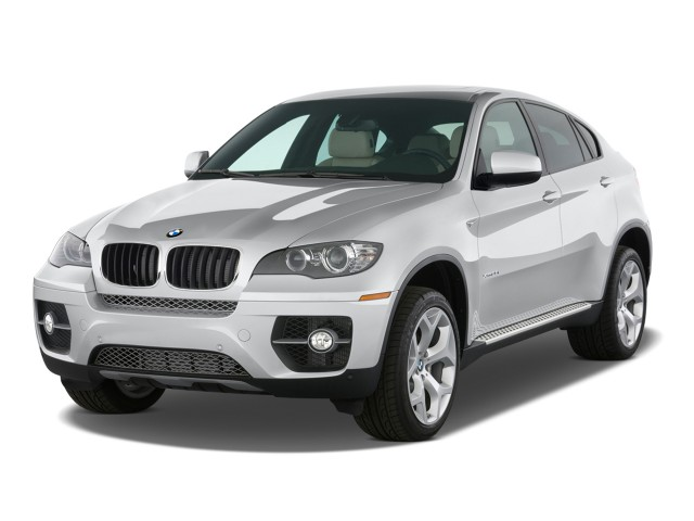 Angular Front Exterior View - 2010 BMW X6 AWD 4-door 35i