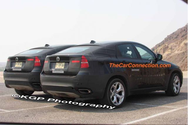 2010 BMW X6 Hybrid Spy Shots