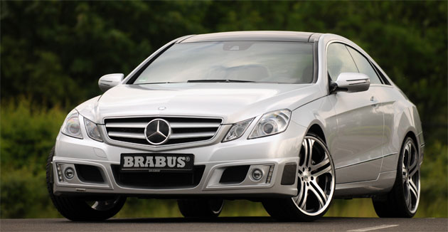Brabus-tuned Mercedes E-Class Coupe bangs out 456hp