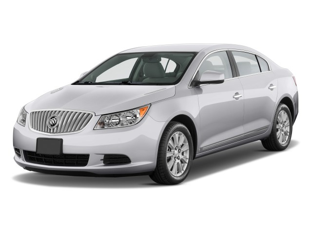 Angular Front Exterior View - 2010 Buick LaCrosse 4-door Sedan CX