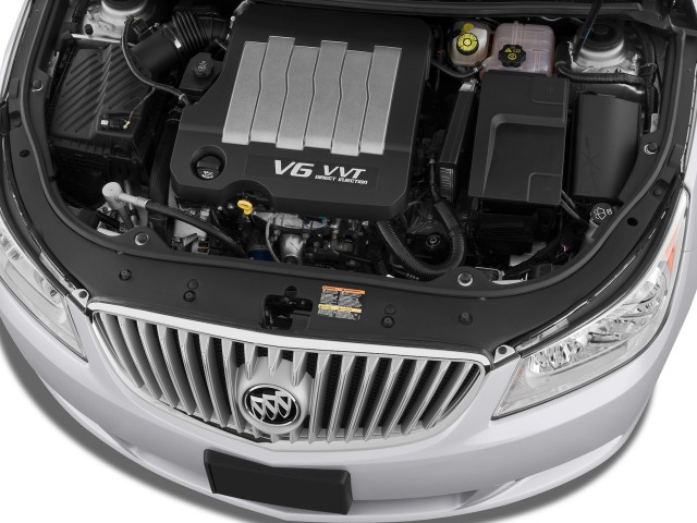 Engine - 2010 Buick LaCrosse 4-door Sedan CX