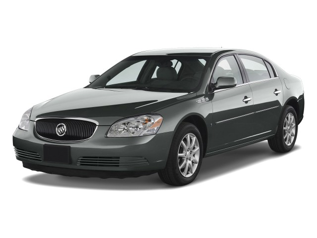 Angular Front Exterior View - 2010 Buick Lucerne 4-door Sedan CXL