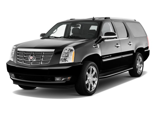 2010 Cadillac Escalade ESV 2WD 4-door Base Angular Front Exterior View
