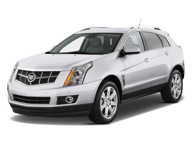 2010 Cadillac SRX FWD 4-door Performance Collection Angular Front Exterior View