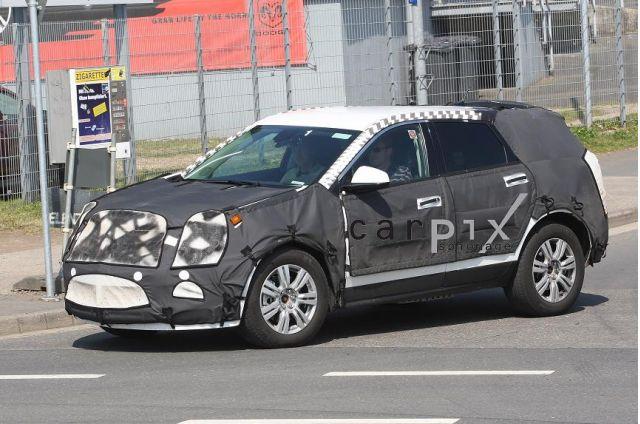 2010 Cadillac SRX Spy Shots, Too!