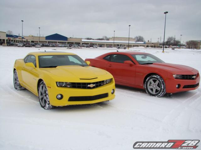 Early Production 2010 Chevrolet Camaro Ss And Lt Driven