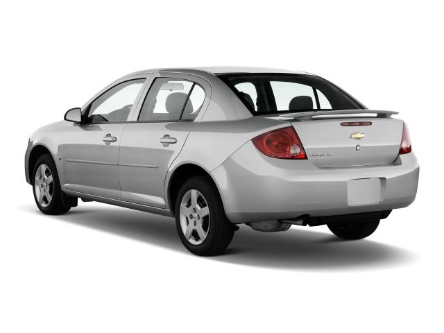 Angular Rear Exterior View - 2010 Chevrolet Cobalt 4-door Sedan LT w/1LT
