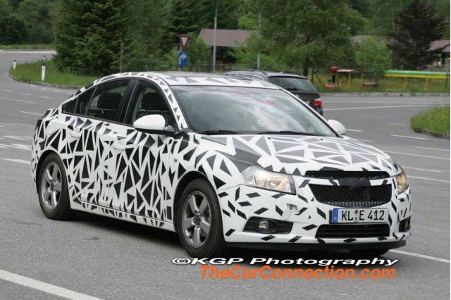 2010 Chevrolet Cobalt Spy Shots