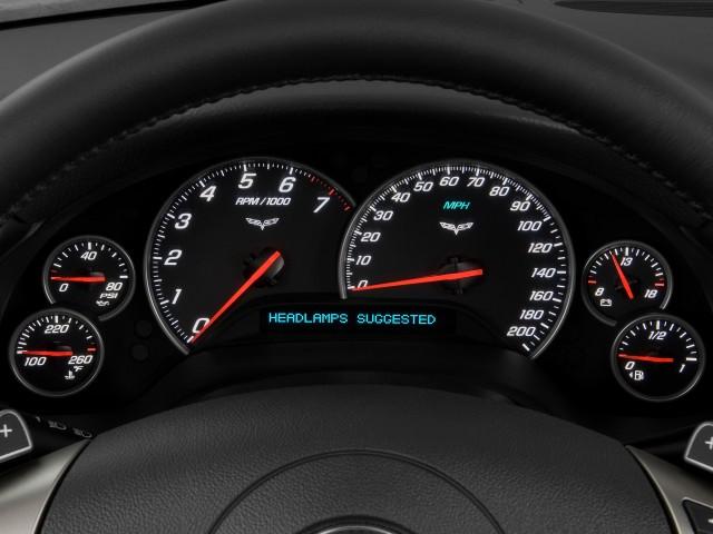 Instrument Cluster - 2010 Chevrolet Corvette 2-door Coupe w/3LT