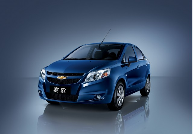 2010 Chevrolet New Sail, sold in China
